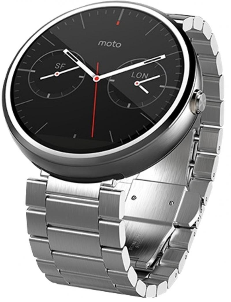 MOTOROLA MOTO 360 4GB SLIM LIGHT FINISH