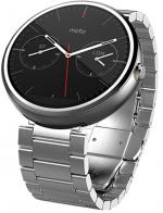 Умные часы Motorola Moto 360 4Gb Slim Metal Light Finish
